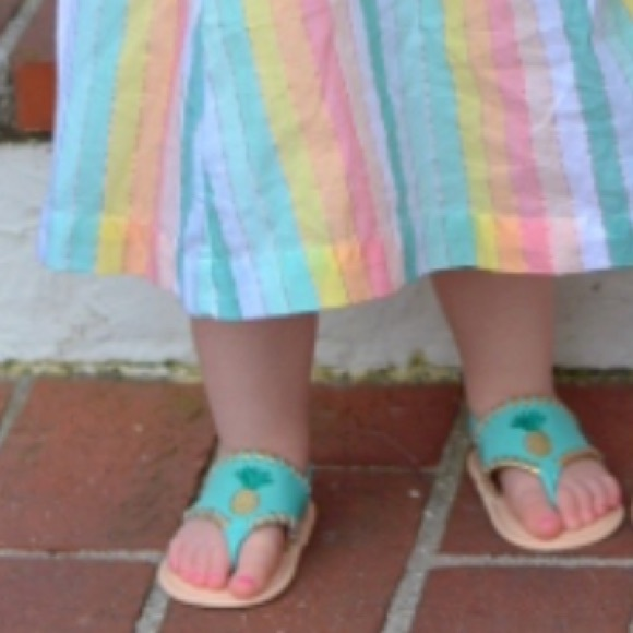 Jack Rogers Shoes | Baby Pineapple